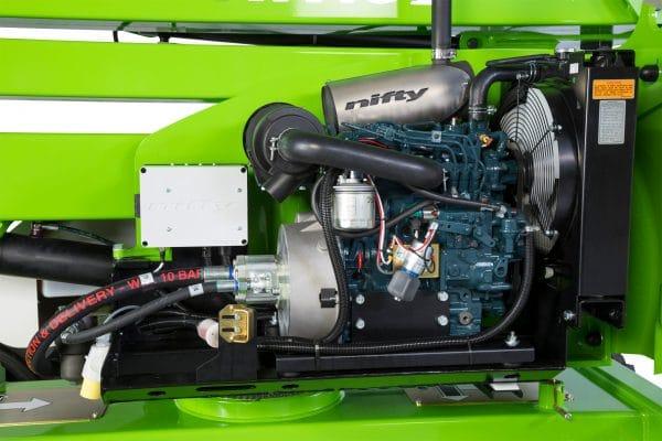 moteur HR 15 4X4