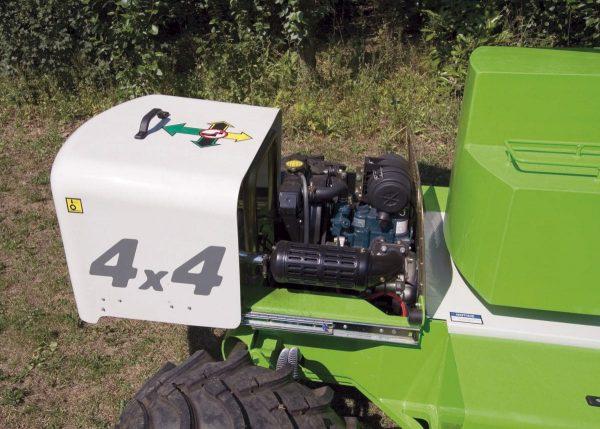 Compartiment moteur NIFTYLIFT HR12 4X4