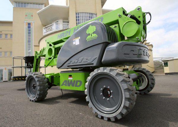 HR21 Hybrid - Nacelle élévatrice automotrice