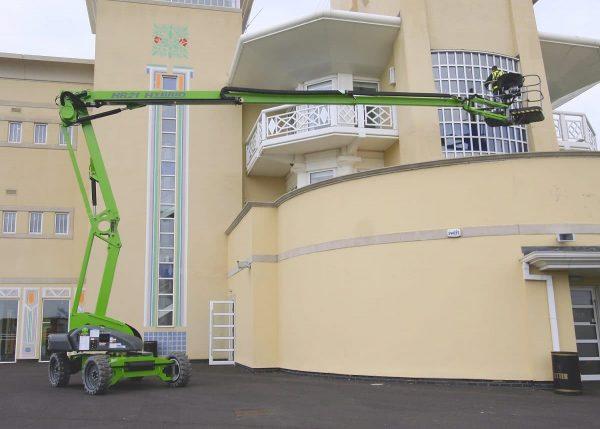 Nacelle articulée à énergie hybride de 21 mètres de hauteur de travail