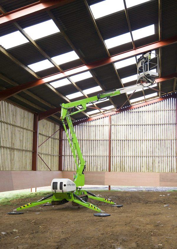 Niftylift TD120T en position de travail