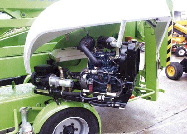 Nifty 210 - Nacelle élévatrice tractable
